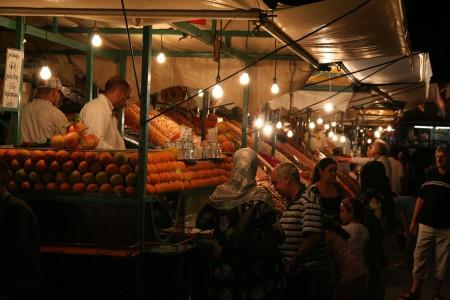 Maroko – Marakéš. Útěk zpět do hor – Setti Fatma