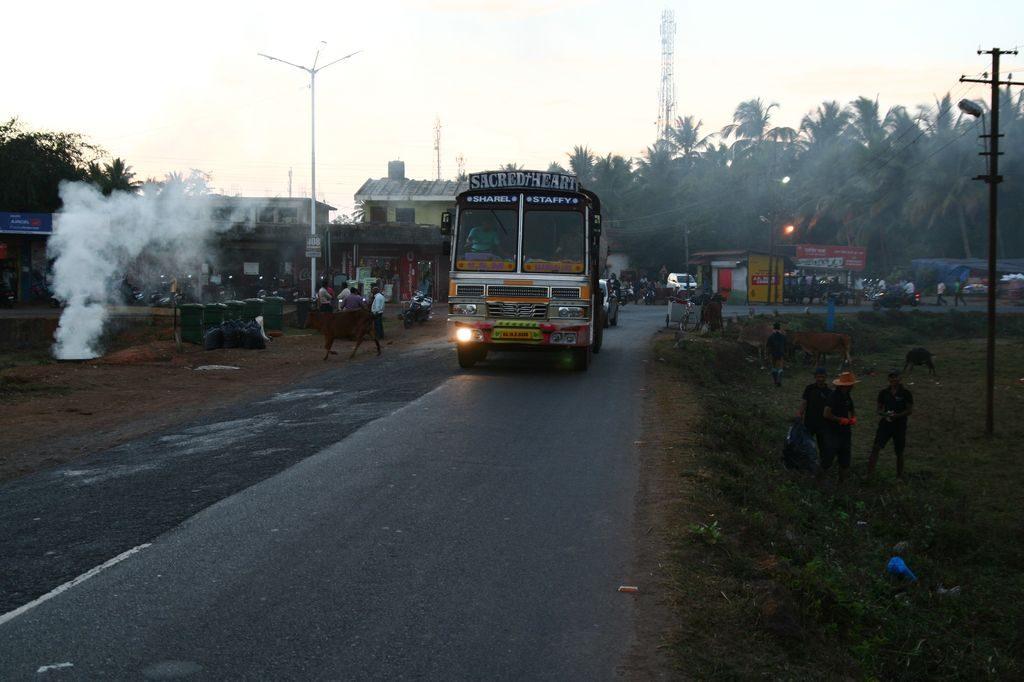 Příjezd do Goa