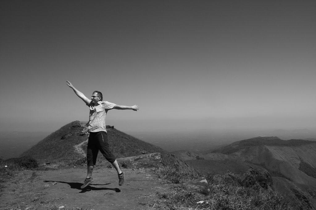 Tadiandamol Hills - vrcholové foto