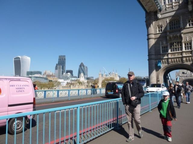 Procházka po Tower Bridge