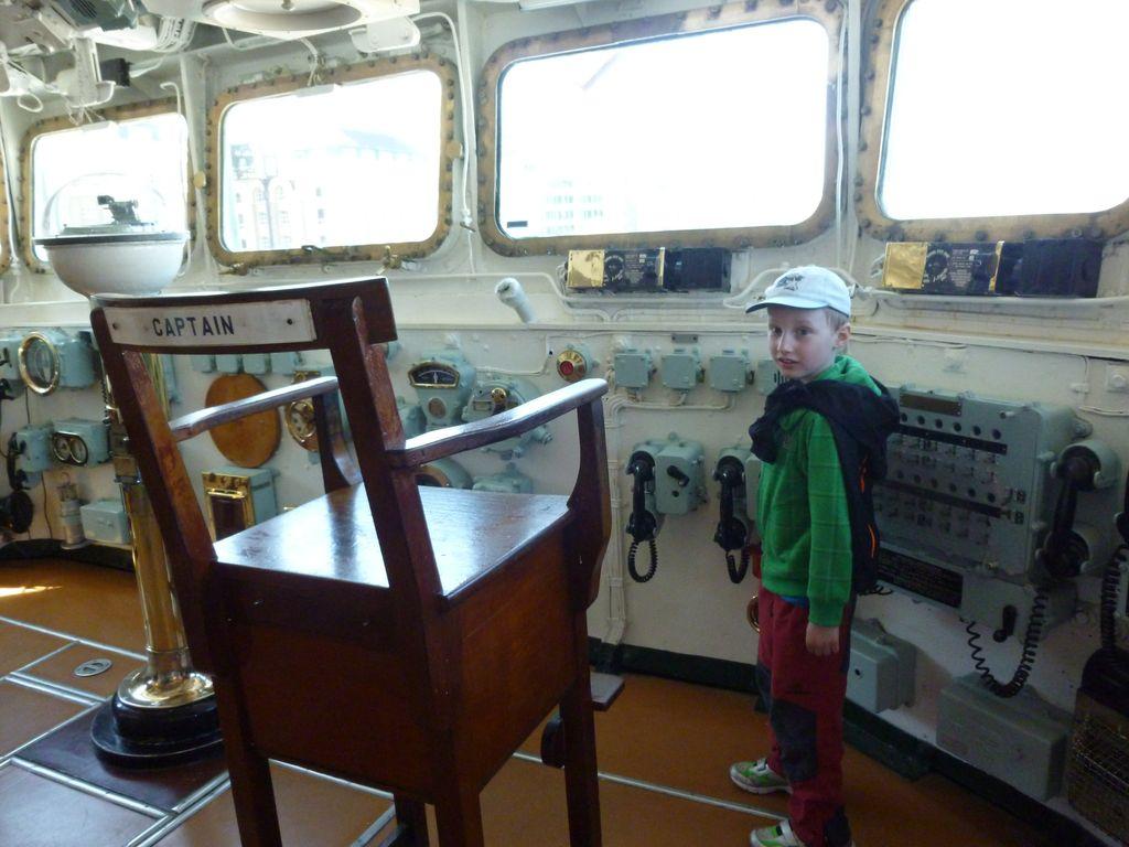 H.M.S. Belfast - captain