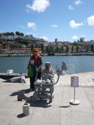 Nábřeží v Portu je velmi příjemné