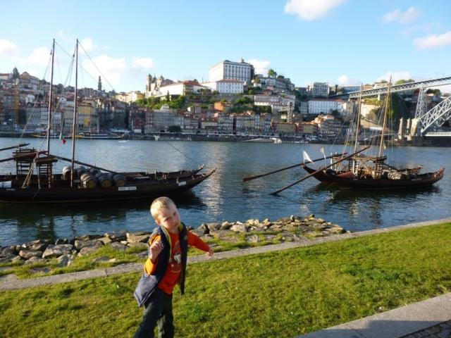I levý břeh řeky Douro je v Portu velmi příjemný