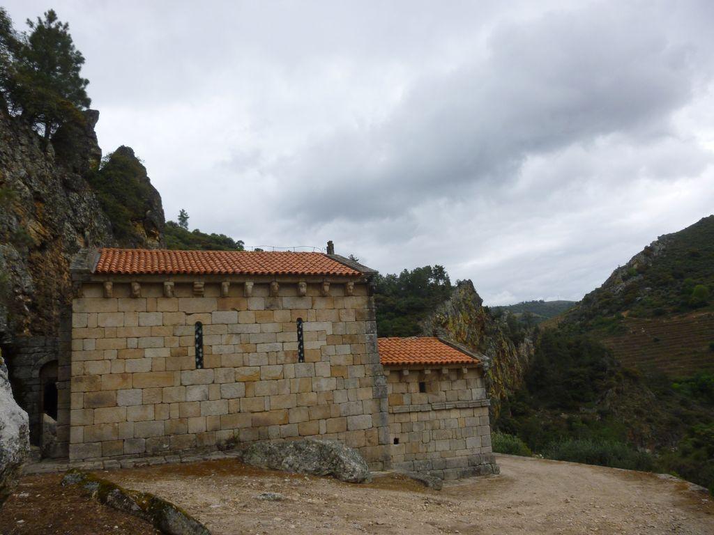Kostelík v oblasti Douro