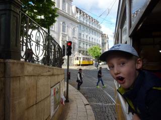 Jízda tramvají v Lisabonu - jeden z highlights