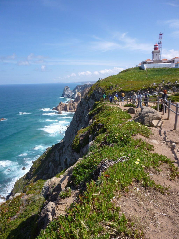 Cabo da Roca - nejzápadnější místo kontinentální Evropy