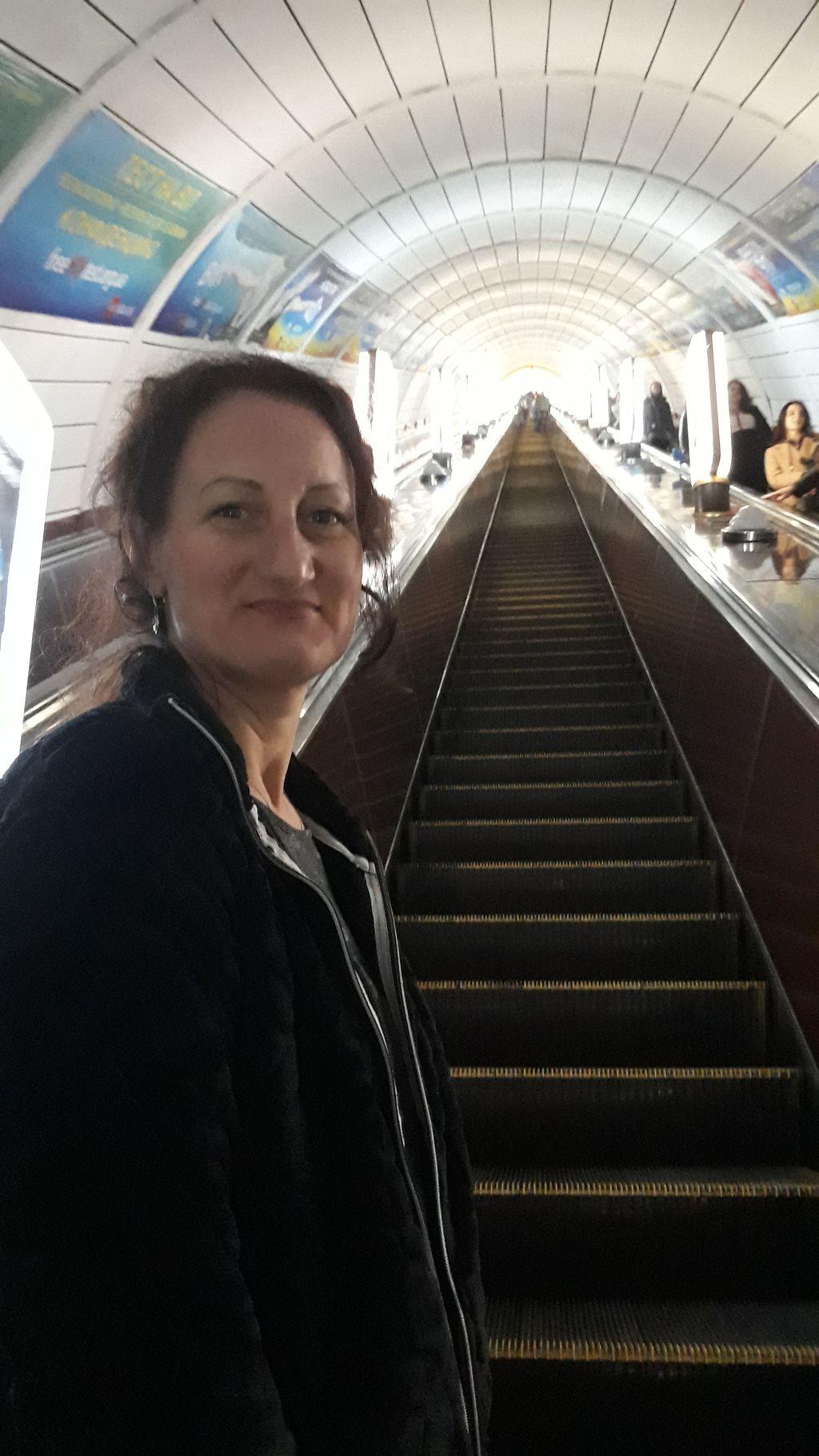 Nejhlubší stanice metra na světě - Arsenalna 105m