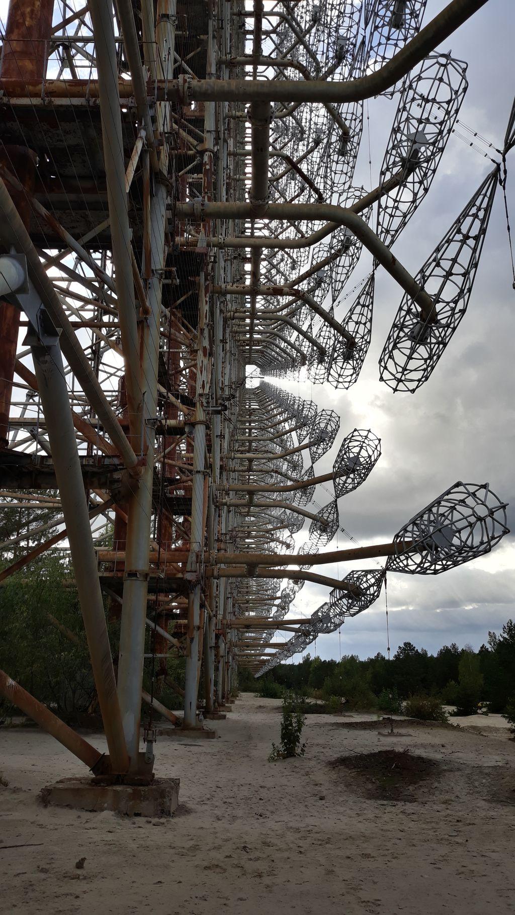 Vojenský radar Duga je součástí prohlídkového okruhu