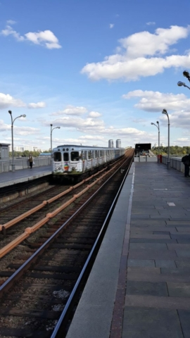 Metro ve stanici Dnipro