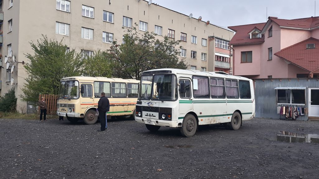 Místní doprava na Zakarpatské