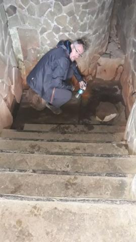 Minerálka ve městě Svaljava