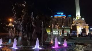 Po návratu - večerní Maidan
