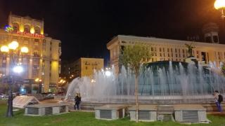 Po návratu - večerní Maidan 3