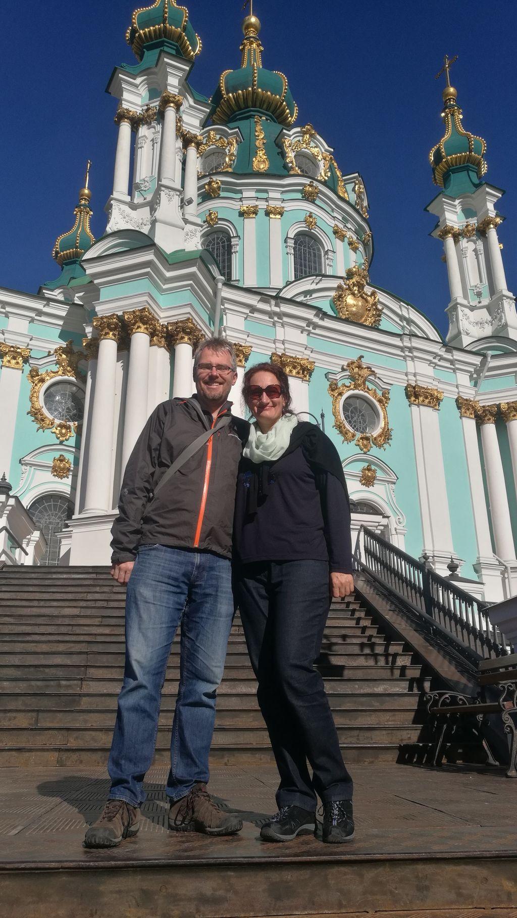 Chrám sv. Ondřeje - rodinné foto:-)