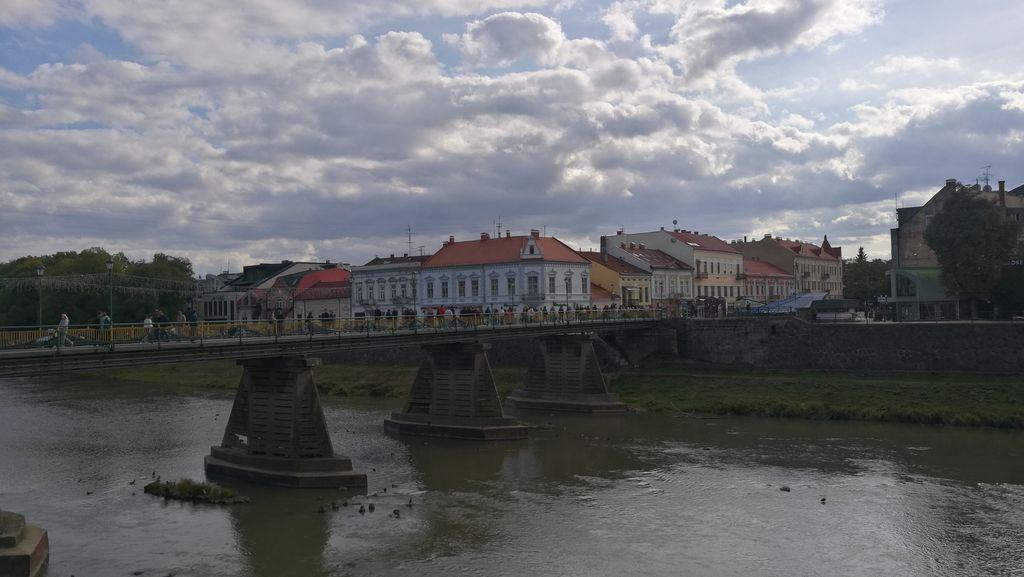 Most v Užgorodu - místní chlouba