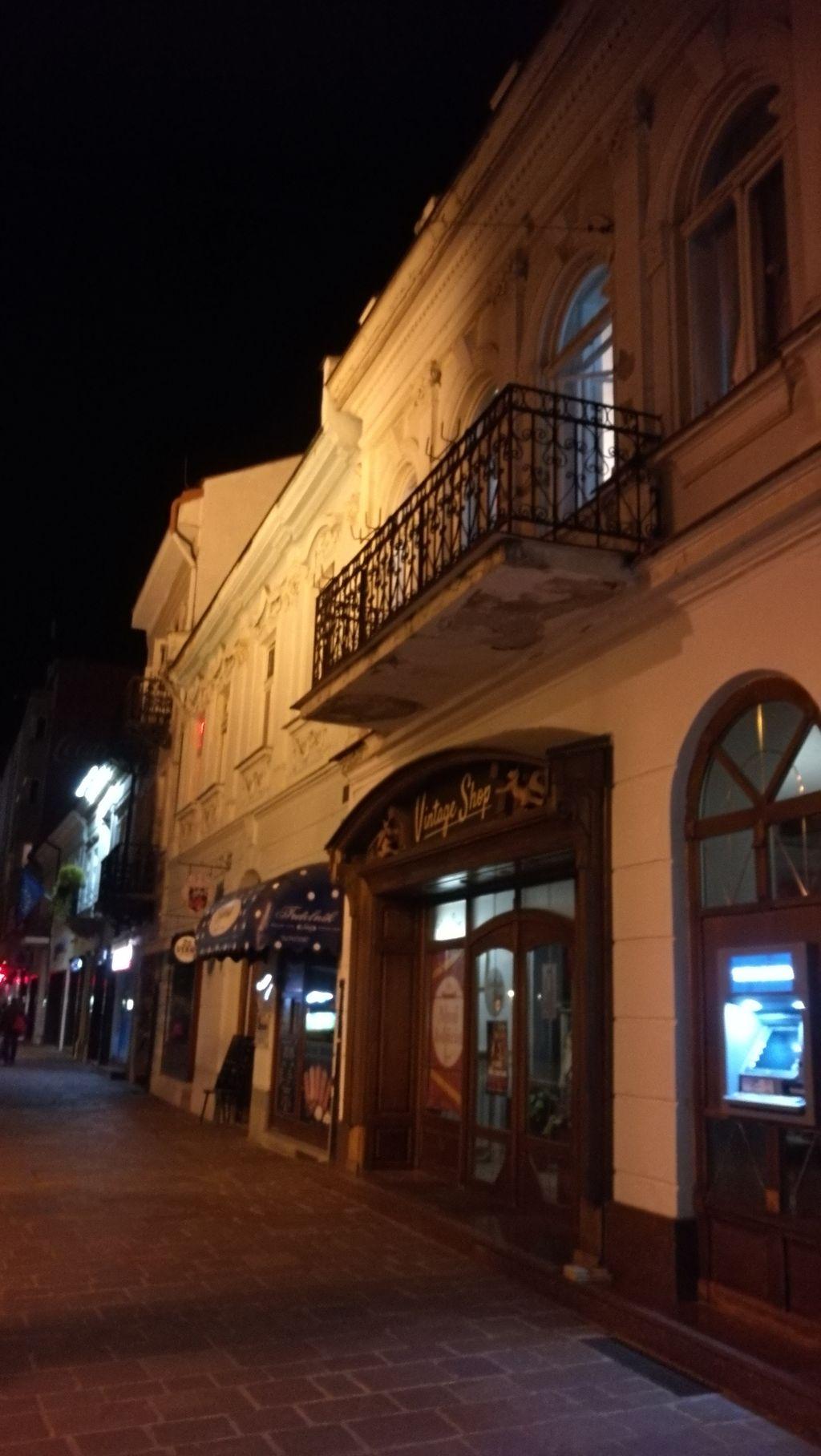 Kavárnička v Košicích