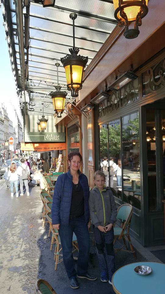 Montmartre a rodinka