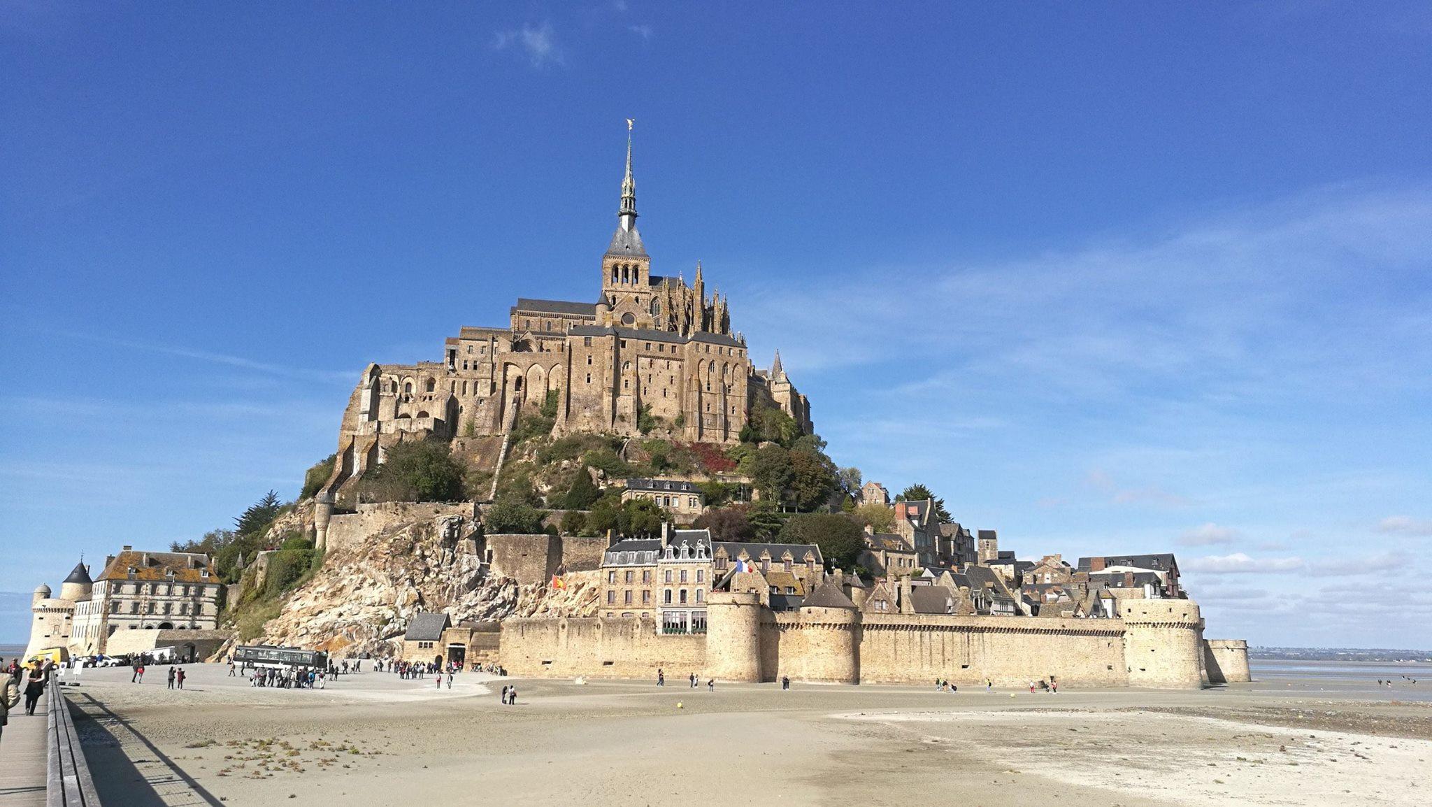 Mont Saint Michel a doliv