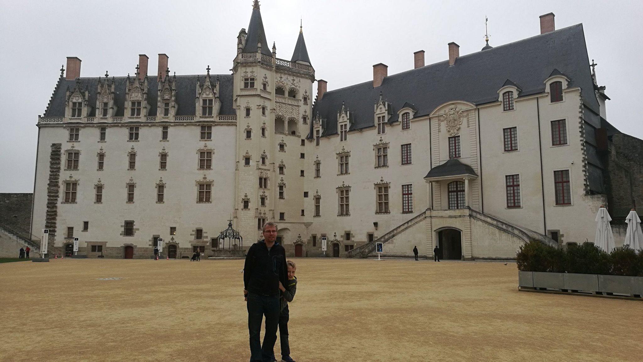 Nantes, hrad