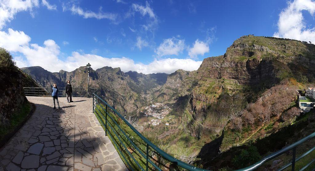 Panorama na hory