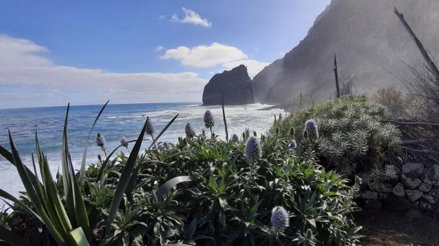 Moře pod Santanou - jako v tropech:-)