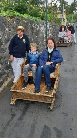 Saně ve Funchalu