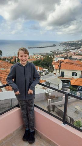 Ubytování, terasa, Funchal