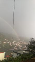 Déšť, duha