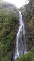 Vodopád na levádě