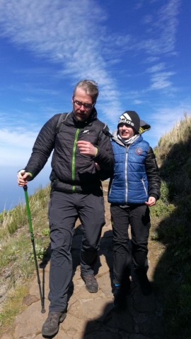 Pico Ruivo vichřice