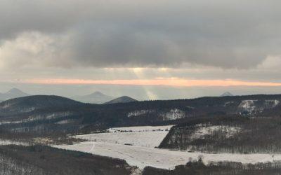 8. nejvyšší vrchol Českého středohoří – Lipská hora