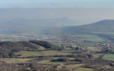 Nejvyšší vrchol Českého středohoří – Milešovka