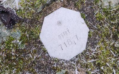 5. nejvyšší vrchol Českého středohoří – Ostrý
